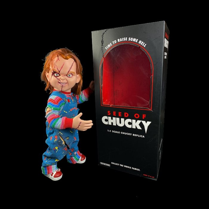 Seed of Chucky Prop Replica 1/1 Chucky Doll 76 cm Trick or Treat Studios Product
