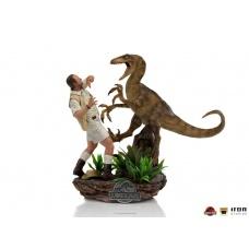 Jurassic Park: Deluxe Clever Girl 1:10 Scale Statue - Iron Studios (EU)