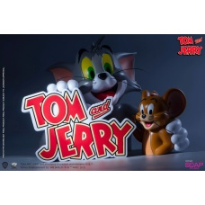 Tom and Jerry: On-Screen Partner PVC Statue | Soap Studio