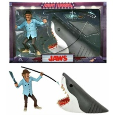 Jaws: Toony Terrors - Jaws and Quint 6 inch Action Figure 2-Pack   NECA