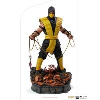 Mortal Kombat: Scorpion 1:10 Scale Statue Iron Studios Product