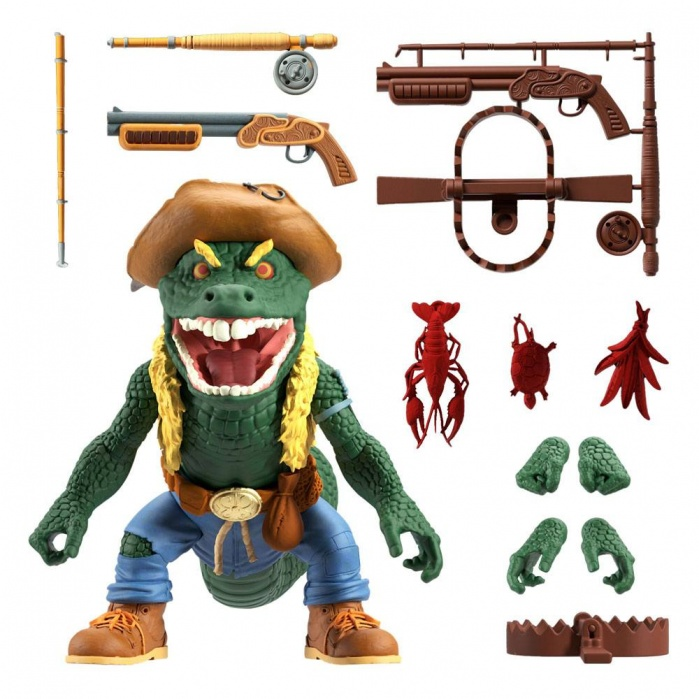 TMNT: Ultimates Wave 5 - Leatherhead 7 inch Action Figure Super7 Product