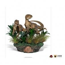 Jurassic Park: Deluxe Just the Two Raptors 1:10 Scale Statue - Iron Studios (EU)