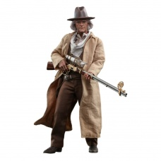 Back to the Future Part III Doc Brown Masterpiece Action Figure 1/6 - Hot Toys (EU)