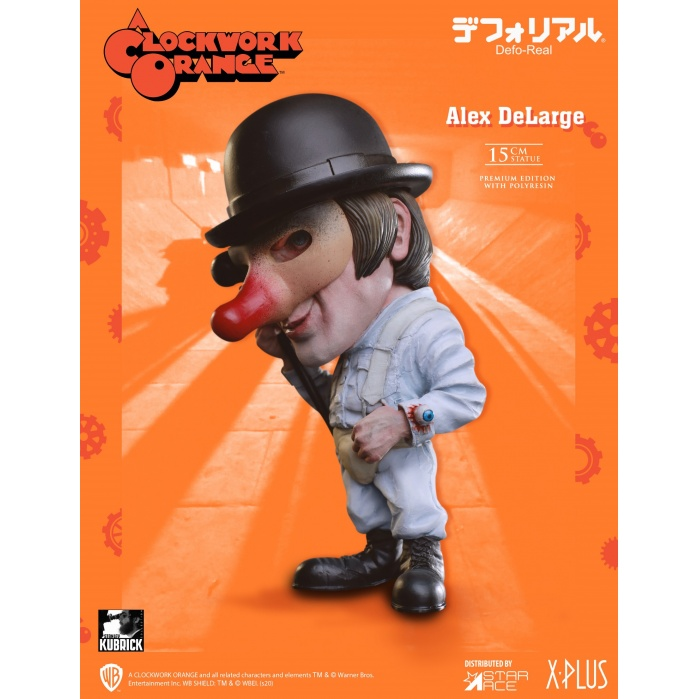 A Clockwork Orange: Alex DeLarge Defo-Real PVC Statue Star Ace Toys Product