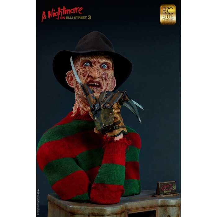 A Nightmare on Elm Street 3: Freddy 1:1 Scale Bust Elite Creature Collectibles Product