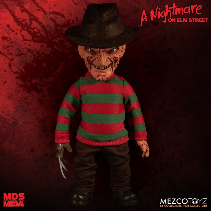 A Nightmare on Elm Street: Freddy Kruger Action Figure Mezco Toyz Product