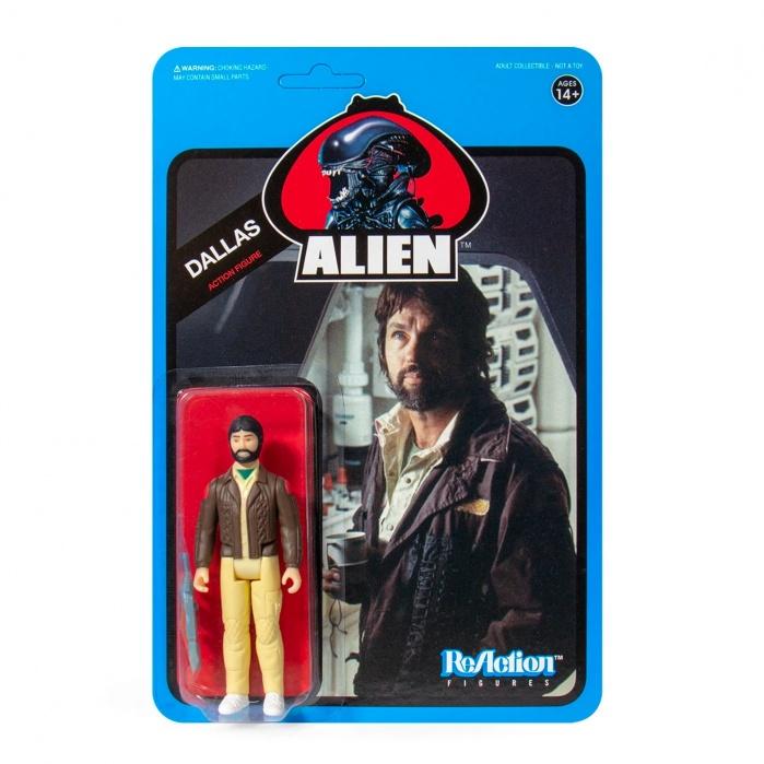 Alien: Wave 3 - Dallas Blue Card 3.75 inch ReAction Figure Super7 Product