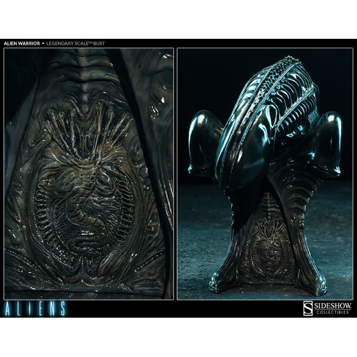 Aliens: Alien Warrior Legendary Scale Bust Sideshow Collectibles Product