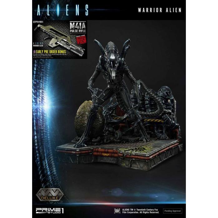 Aliens: Deluxe Warrior Alien Bonus Version 26 inch Diorama Prime 1 Studio Product