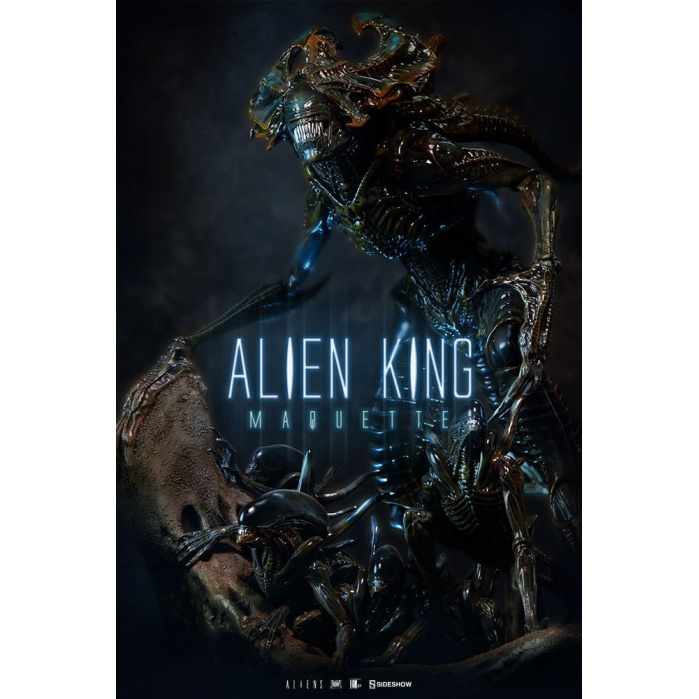 Aliens Maquette 1/4 Alien King Sideshow Collectibles Product