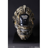 Aliens Replica 1/1 Alien Warrior Head 45 cm Bust CoolProps Product