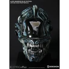 Aliens Replica 1/1 Alien Warrior Head Blue Edition | CoolProps