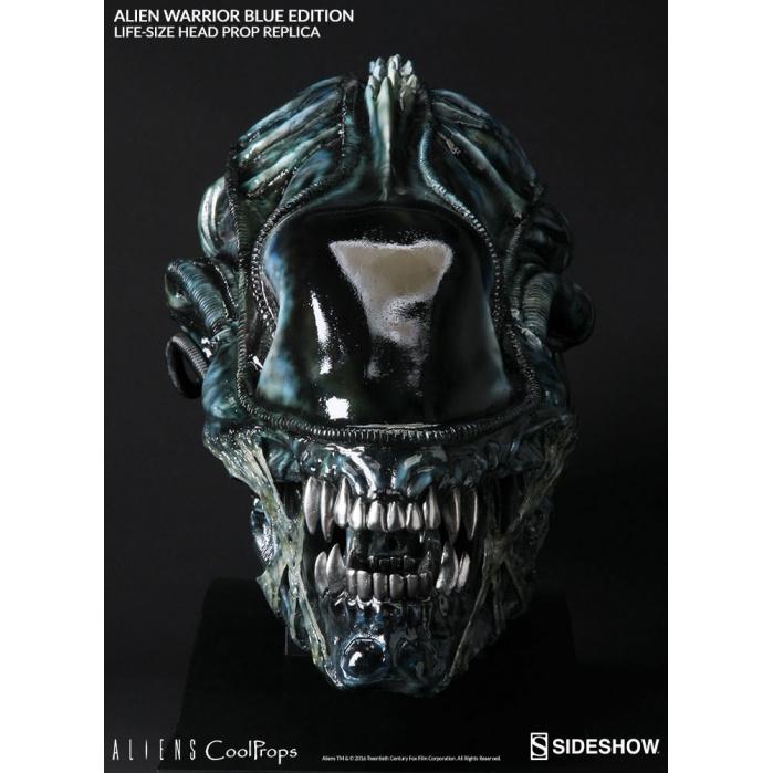 Aliens Replica 1/1 Alien Warrior Head Blue Edition CoolProps Product