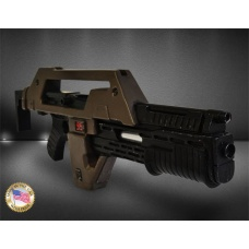Aliens Replica 1/1 Pulse Rifle Brown Bess Weathered Ver. 68 cm | Hollywood Collectibles Group