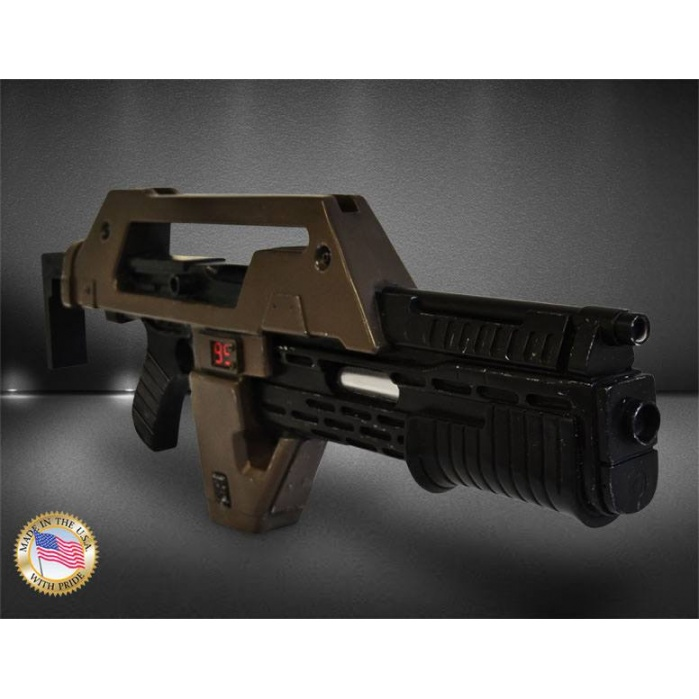 Aliens Replica 1/1 Pulse Rifle Brown Bess Weathered Ver. 68 cm Hollywood Collectibles Group Product