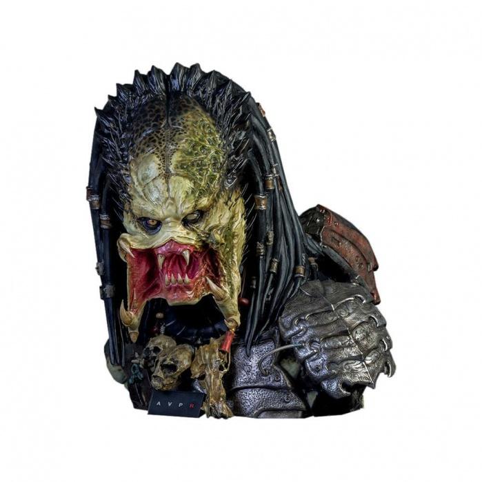 Aliens vs Predator Requiem Bust 1/1 Wolf Predator CoolProps Product