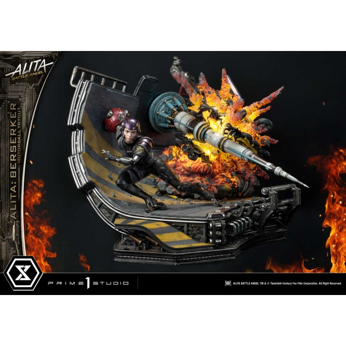 Alita Battle Angel: Berserker Motorball Tryout 1:4 Scale Diorama Prime 1 Studio Product