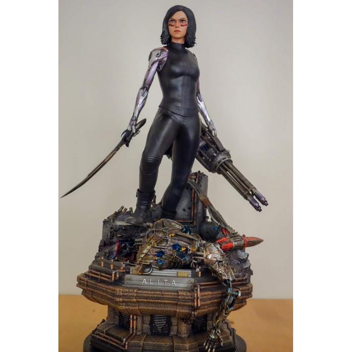 Alita Berserker Deluxe 1/4 Statue Prime 1 Studio Product