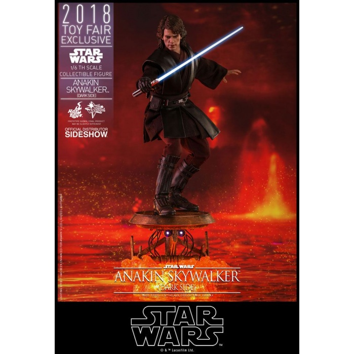 Anakin Skywalker Dark Side 2018 Toy Fair Exclusive Hot Toys Product