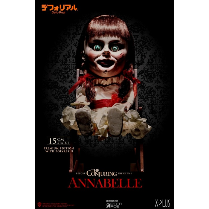 Annabelle: Defo-Real Annabelle Statue Star Ace Toys Product