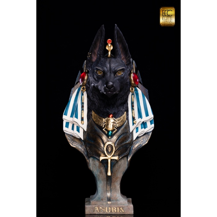 Anubis 1:1 Scale Bust Elite Creature Collectibles Product