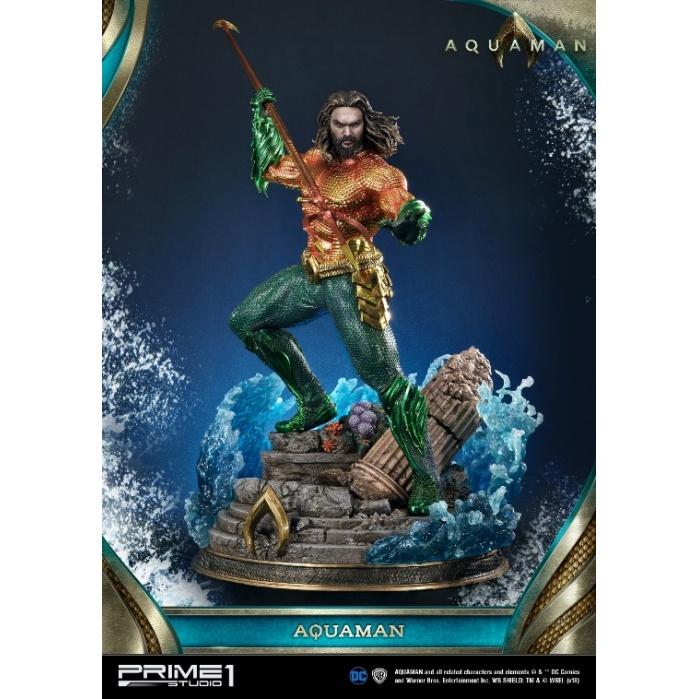 Aquaman Movie - Aquaman Statue 1/3 Prime 1 Studio Product