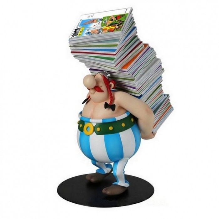 Asterix Collectoys Statue Obelix Plastoy Product
