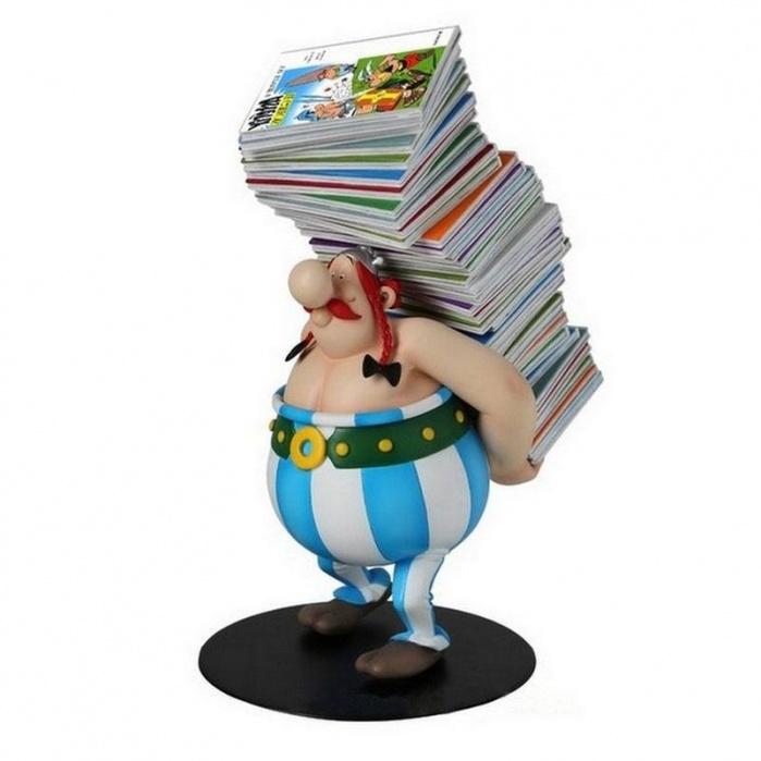 Asterix Collectoys Statue Obelix Plastoy Product