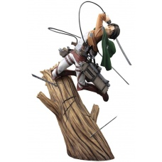 Attack on Titan ARTFXJ Statue 1/8 Levi Renewal Package Ver. 28 cm | Kotobukiya