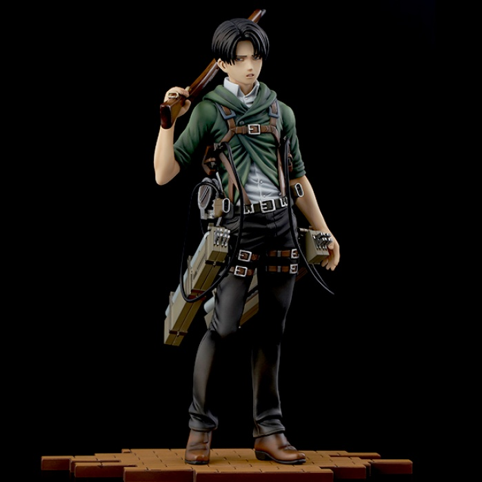 Attack on Titan: Brave-Act Levi Version 2A - 1:8 Scale PVC Statue Sentinel D4 Toys Product