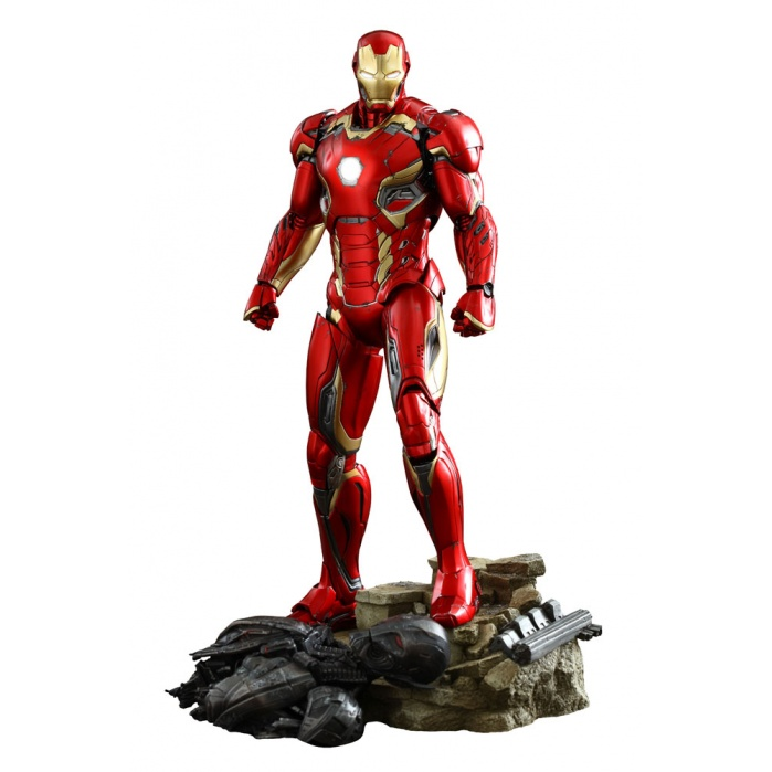 Avengers Age of Ultron Iron Man Mark XLV Diecast Hot Toys Product