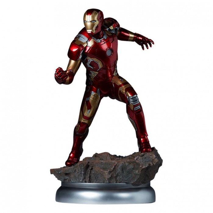 Avengers Age of Ultron Maquette 1/4 Iron Man Mark XLIII 51 cm Sideshow Collectibles Product