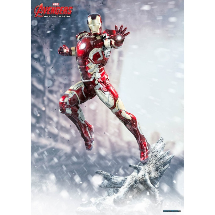Avengers Age of Ultron Statue 1/4 Iron Man Mark XLIII Iron Studios Product