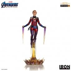 Avengers: Endgame BDS Art Scale Statue 1/10 Captain Marvel | Iron Studios