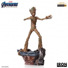 Avengers  Endgame BDS Art Scale Statue 1/10 Groot Iron Studios Product Image