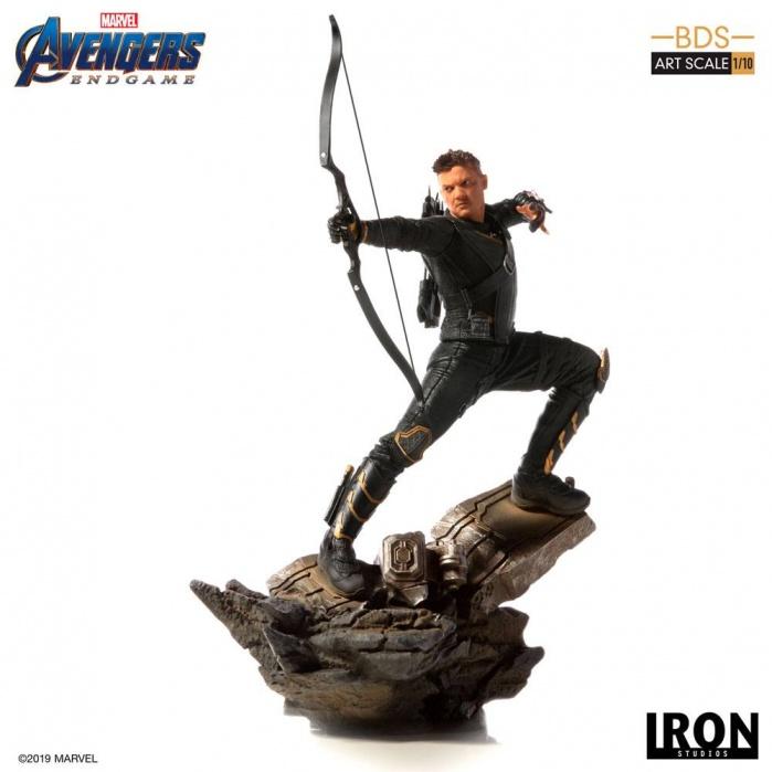 Avengers Endgame BDS Art Scale Statue 1/10 Hawkeye Iron Studios Product