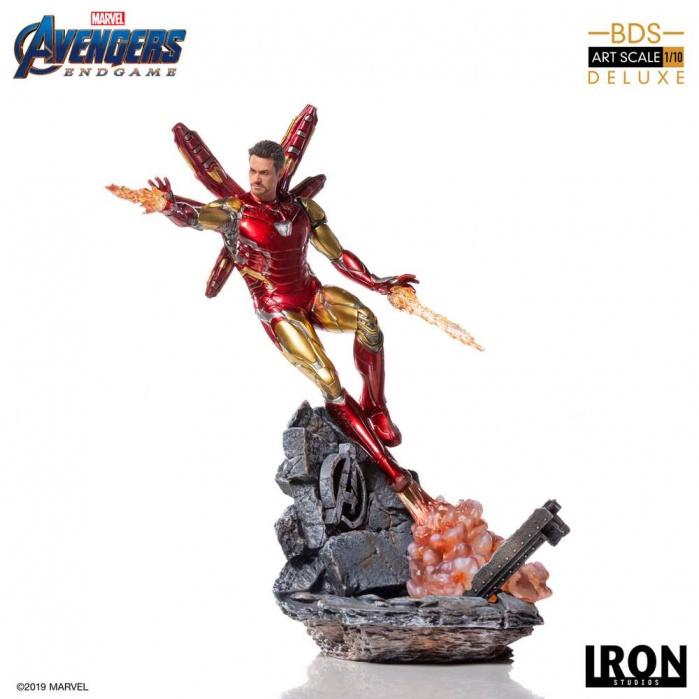 Avengers Endgame - Deluxe Iron Man Mark LXXXV 1:10 Iron Studios Product