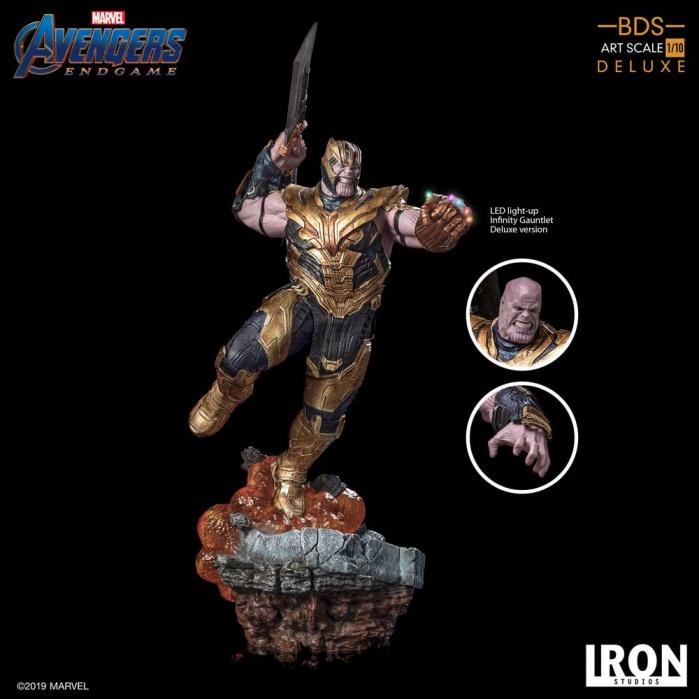 Avengers Endgame - Deluxe Thanos 1/10 Scale Statue Iron Studios Product