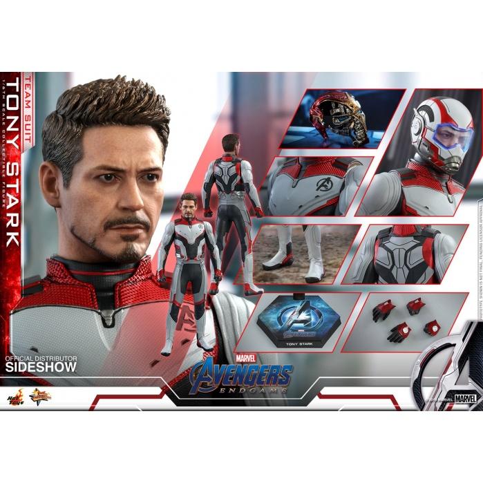 Avengers Endgame - Team Suit Tony Stark 1:6 Scale Figure Hot Toys Product