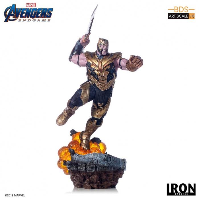Avengers Endgame - Thanos 1/10 Scale Statue Iron Studios Product