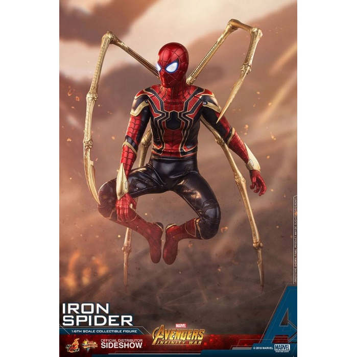Avengers Infinity War 1/6 Figure Iron Spider Hot Toys Product