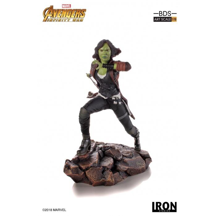 Avengers Infinity War - Gamora 1/10 Scale Statue Iron Studios Product