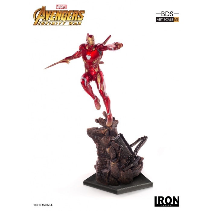 Avengers Infinity War - Iron Man Mark L BDS 1/10 Statue Iron Studios Product