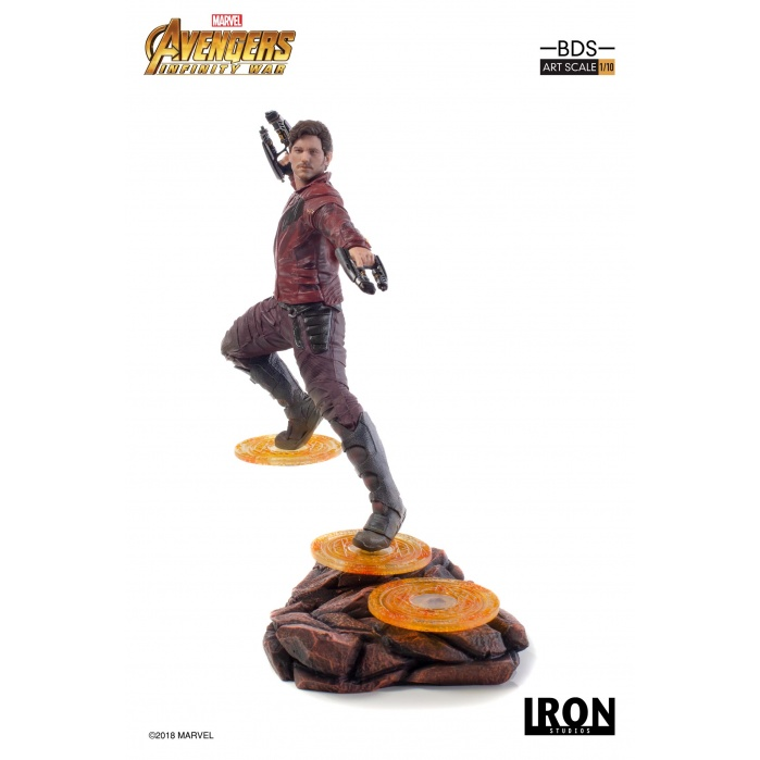 Avengers Infinity War - Star-Lord 1/10 Scale Statue Iron Studios Product