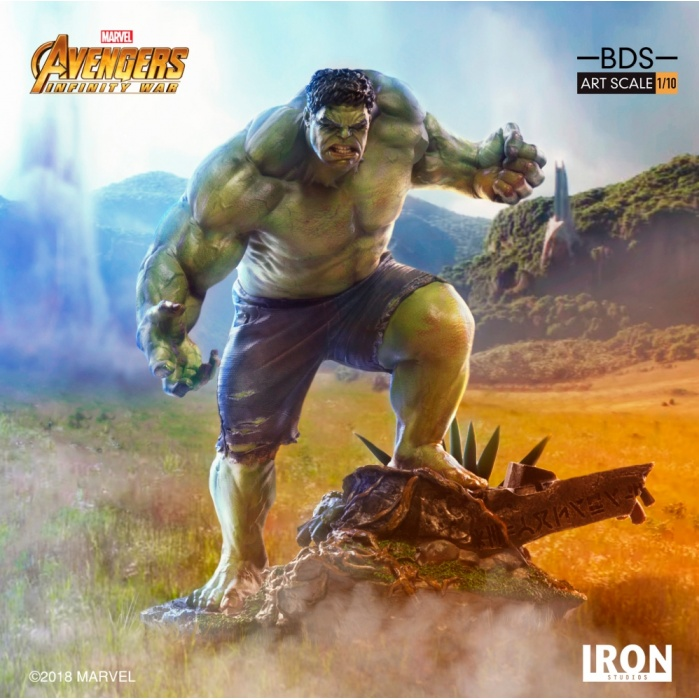 Avengers Infinity War - The Hulk 1:10 Scale Statue Iron Studios Product