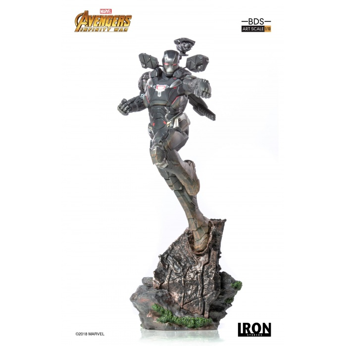 Avengers Infinity War - War Machine 1/10 Scale Statue Iron Studios Product