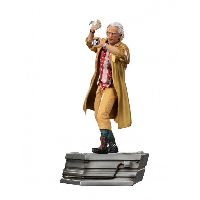 Back to the Future 2: Doc Brown in Alley 1:10 Scale Statue Iron Studios Product