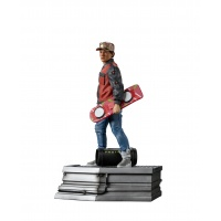 Back to the Future 2: Marty McFly in Alley 1:10 Scale Statue Iron Studios Product
