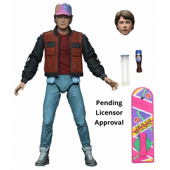 Back to the Future 2: Ultimate Marty 7 inch Action Figure NECA Product